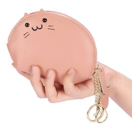 korean children purses Australia - new 2020 high quality genuine leather Fashion children Coin Purses key bags lovely Cartoon mouse bag 14 *4* 10cm shell bag gift CL-8097