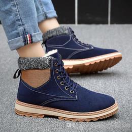 a27992567e5e Free shipping winter high help warm cotton shoes male Korean version of the  men s belt boots extravagant increased wild plus velvet men