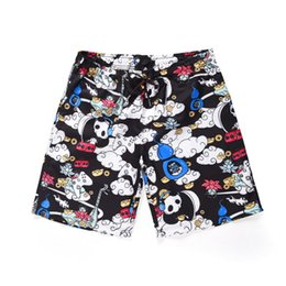 12af896fa5 Casual Beach Shorts 3D Print Panda Clouds Men Korte Broek Summer 2018  Fashion Board Shorts Boys Hipster Clothes Drop Shipping