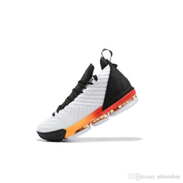 Purple Martin Boots Australia - cheap mens lebron 16 basketball shoes for sale White Wool Grey Orange MPLS Martin Blacks youth kids lebrons sneakers boots new with box size
