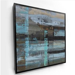 Painting Aluminum NZ - Wholesales Free shipping 2019 1 PC Aluminum Frame Abstract Still Life Hotel Living Room Painting