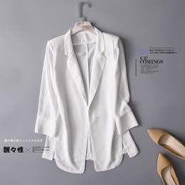 Formal clothes For women online shopping - chiffon Formal Blazer Women s Business Suit Slim Long Sleeve Jacket Suits Office Suit For Women Clothes