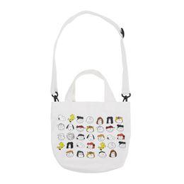 $enCountryForm.capitalKeyWord Australia - Ins Portable Cartoon Canvas Shopping Bags Girls Cute Cat Single-Shoulder bags Casual Reusable Handbag Backpack 3Styles