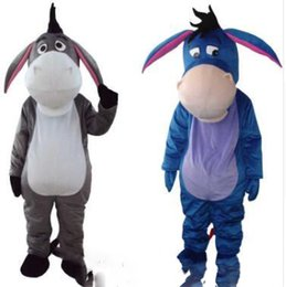 feeb109889b9 Professional Mascot Adult Costume Eeyore Donkey Mascot Costume High Quality  Donkey Mascot Fancy Carnival Party Advertising Free shipping