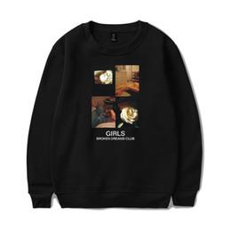 Hot Broken UK - Broken Dreams Club Round Collar Sweatshirt Popular Capless Personalized Hip-Hop Streetwear Men women Harajuku Hot Sweatshirt