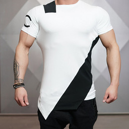 7491527ccdd muscle man tee shirts 2019 - Men Summer Style Fashion T -Shirts Fitness And  Bodybuilding