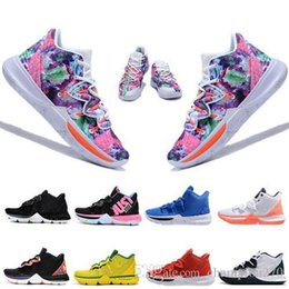 5161695db2ad New 2019 Hot Sale Kyrie Iv 5 Basketball Shoes Mens Iv 5 Gold championship  Mvp Finals Training Sneakers Sport Running Shoes Size 7-12