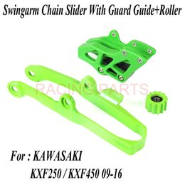 chain guides UK - Kxf Chain Slider Guard Guide Roller Fit Kx 250f 450f Kx250f Kx450f 2009 -2018 Dirt Bike Off Road Motocross Motorcycle