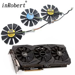 Asus Card Fan Australia - New 87MM PLD09210S12M PLD09210S12HH Cooling Fan Replace For ASUS Strix GTX 1060 OC 1070 1080 GTX 1080Ti RX 480 Graphics Card Fan