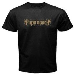 cd3e20461a0ad1 hard rock shirts 2019 - New Papa Roach Hard Rock Band Logo Men s Black T-