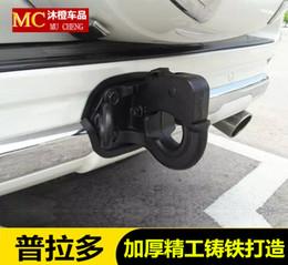 Toptan satış 03-19 Toyota Prado için Uygun Römork Kanca Arka Tampon Rogue Kanca Römork Topu Değiştirilmiş Parçalar