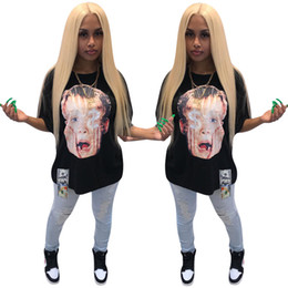 $enCountryForm.capitalKeyWord UK - Designer women T-shirt Short Sleeve Tee Tops Sexy Crew Neck tshirt Print Loose Summer Clothing Pullover Black plus size S-XL DHL 418