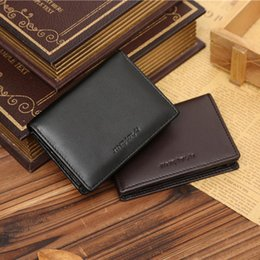 $enCountryForm.capitalKeyWord NZ - Wholetide- Designer Brand Slim Short Small Leather Men Wallet Male Clutch Purse Bag Card Holder Money Walet Cuzdan Vallet Perse Portomonee