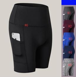 $enCountryForm.capitalKeyWord UK - Women Yoga Outfits Ladies Sports Capri Leggings Summer Short Pants Exercise & Fitness Wear Girls Brand Running Leggiungs