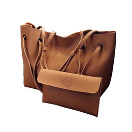 Branded Handbags Australia - goood quality Soft Leather Women Bag Brand Fashion Designer Female Shoulder Bags Big Casual Bags Set Handbag High Quality