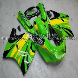 $enCountryForm.capitalKeyWord Australia - Screws+Free gifts green motorcycle cowl for Kawasaki ZX11 ZX11R 1990 1991 1992 ABS Plastic Fairing
