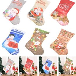 Shop Product Australia - New Hot Christmas Stockings Fireplace Decorations Christmas Products Hotels Bars Parties Shopping Malls Pendants Christmas Socks T7I297