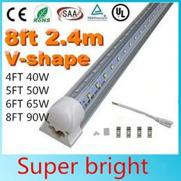 $enCountryForm.capitalKeyWord Canada - V-Shaped 4ft 5ft 6ft 8ft Cooler Door Led Tubes T8 Integrated Led Tubes Double Sides SMD2835 Led Fluorescent Lights AC 85-265V UL DLC