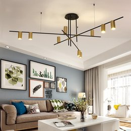 Kitchen restaurants online shopping - Creative Design LED Chandeliers Lighting Personality Hanging Branch Lamp for Living Room Cafe Bar Bar Studio Restaurant