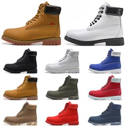 White lace booties online shopping - New Original Booties Luxury Boot Designer boots Cusual shoes men women running platform Waterproof hiking outdoor mens trainers sneakers