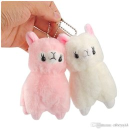 """Top New Toys Australia - Top New 2 Styles 4.5"""" 12CM Grass Mud Horse Lama Pacos Plush Doll Anime Collectible Stuffed Keychains Pendants Best Gifts Soft Toys"""