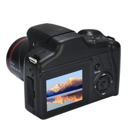 Vente en gros Appareil photo numérique Selfie Zoom optique de qualité supérieure Prise de vue en vidéo numérique Prise en charge de 1200 W Caméscope Full HD avec carte SD