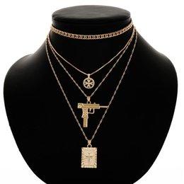 Trendy Hohl Herz Silber Gold Metall Laser Punk Gothic Choker Halskette Für Frauen Mädchen Kragen Schmuck Halsketten & Anhänger