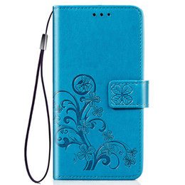 $enCountryForm.capitalKeyWord Australia - 2019 high quality anti-fall anti-collision soft thin lucky four-leaf clover multi-function PU leather phone case for Samsung M30 Note 10 pro
