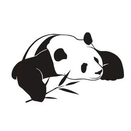 $enCountryForm.capitalKeyWord UK - New Style Animal Home Decor PVC Waterproof Self Adhesive Chinese Panda Wall Stickers Kids Bedroom Decoration