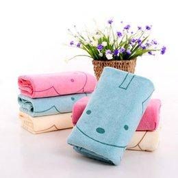 $enCountryForm.capitalKeyWord Australia - Cartoon Rabbit Face Towel Quick-Dry Durable Water Absorption Towels Shower Home Cotton Soft Towel Asciugamano Recznik Serviette