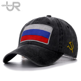 $enCountryForm.capitalKeyWord Australia - 2019 New Spring Summer Baseball Cap Russian Flag Cap High Quality Washed Cotton Snapback Hat Cheap CCCP Fitted For Men Women