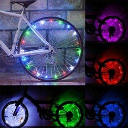 Lights & Lighting Colorful Bicycle Lights Bike Cycling Wheel Spoke Light 32 Led 32-pattern Waterproof Riding Decorative Lighting Drop Shipping