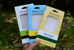 Retail Pack Empty Australia - for iphone 7 Universal Empty Retail Package Paper Box Packing Dual Colorful Paper Plastic Packing Box For iPhone Samsung HTC LG 5.5 Inch
