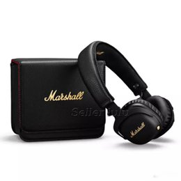 China Marshall MID ANC Bluetooth Headphones Active Noise Cancelling Wireless DJ Headphone Deep Bass Gaming Headset For iPhone Samsung suppliers