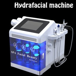 portable mesotherapy machine Canada - Portable facial dermabrasion hydra facial water dermabrasion mesotherapy gun facial dermabrasion machine skin peel face beaity equipment