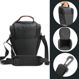 Professional Dslr Camera Bag Australia - Professional Triangle DSLR Camera Cover Protector Waist Case Travel photo Shoulder Bag for Canon Digital Camera Black Gym Bags #563320