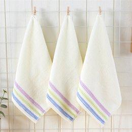 $enCountryForm.capitalKeyWord Australia - Free Shipping Wholesale cotton towel 35*35cm 100g baby wash towel