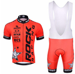 Road Racing jeRseys online shopping - 2019 Cycling Clothing Road Bike Rock Wear Racing Clothes Quick Dry Men s Cycling Jersey Set Ropa Ciclismo Maillot sportswear Racing Suit