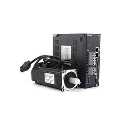Single Phases UK - Lichuan Nema24 200W 60mm Servo motor 200~240V single phase 3ph with servo driver kit for cnc machines