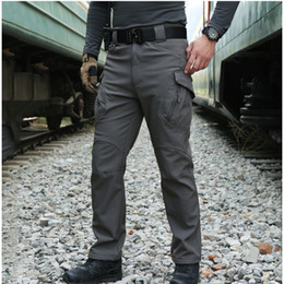 5287f56e7df56 Waterproof hunting trousers online shopping - Professional Men Winter  Waterproof Fish Tactical SoftShell Hiking Pant Man