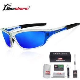Toptan satış Queshark UV400 Polarize Bisiklet Gözlük Spor Bisiklet Güneş Gözlüğü Bisiklet Gözlük Kayak Gözlük Balıkçılık Bisiklet Yürüyüş Gözlük