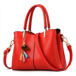 $enCountryForm.capitalKeyWord NZ - good quality Ladies Hand Bags For Women Handbags Crossbody Bags For Women 2019 Red Designer Handbags Italian Leather Bag New A879