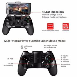 tablet wireless controller Australia - iPega Wireless Bluetooth Handle Wireless Games Joystick Game Accessories For Smart Phones Tablets Smart TV