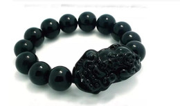indian luck bracelet Australia - Natural black yao shi mo xiu good luck beads bracelet free delivery C2