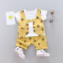 f7011ef62835c baby sets gentleman Wedding Clothes Kids Formal Suit Boy Shirt+Vest+Pants  2PCS baby clothing suit Children Clothing Set bebes