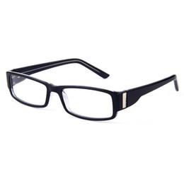 05e2197fb729 BAONONG Plastic Black Rectangular Optical Glasses Frames For Men's Myopia  Reading Eyeglasses Trendy Women's Eyewear T8011