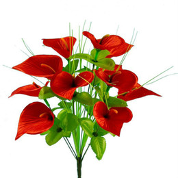 $enCountryForm.capitalKeyWord UK - Home decoration Calla flower real touch decorative flower bouquet artificial flowers for home party decoration
