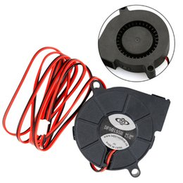 Discount 24v brushless fan - Brushless DC Cooling Turbine Blower Fan 5015 24V 50*62*15mm Durable New