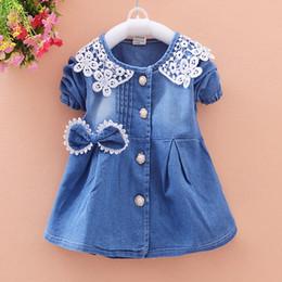 $enCountryForm.capitalKeyWord Australia - good quality New Spring Baby Coat Kids Jacket For Girl Toddler Denim Overcoat Children Outerwear Girls Costume For Kids Clothes