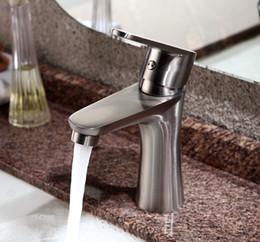 Stainless Steel Water Faucet Australia - SUS 304 Stainless Steel Classical Design Basin Faucet Water Sink Mixer